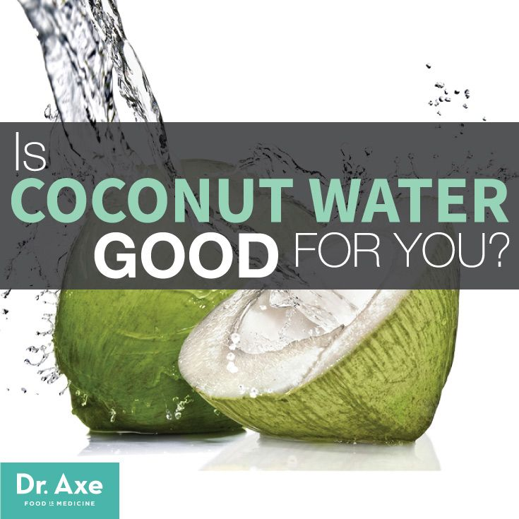 Is Coconut Water Good for You?  http://www.draxe.com #natural #holistic #health