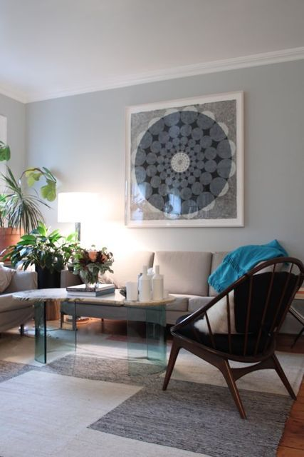Apartment Dining Room Decor Blue