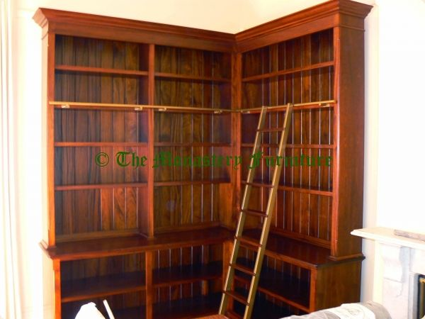 figurines ladders interior in ladder rail and bookcases bookshelf built mulberry marvellous shelf hidden vault library with ikea antique design bookcase bookshelves doors unit rolling home candles
