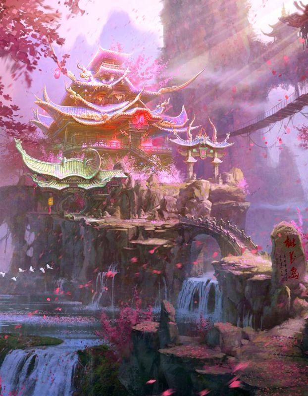 Fantasy; Pagoda