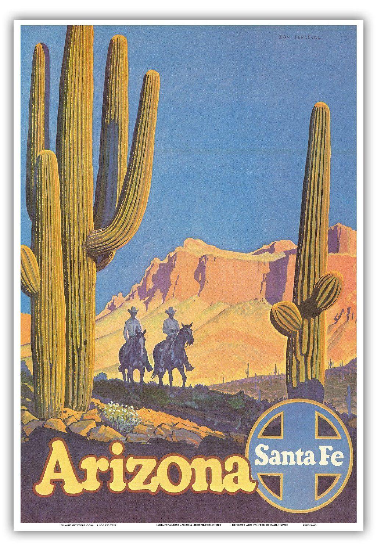 Vintage AZ poster