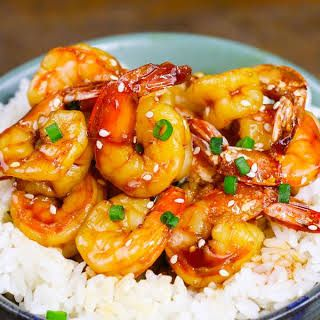 Instant Pot Honey Garlic Shrimp #garlicshrimprecipes