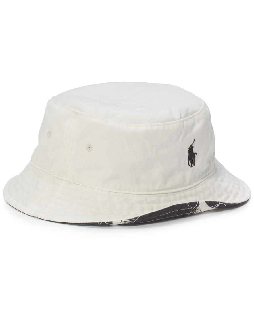 a86a2a62 Polo Ralph Lauren Flamingo-Print Reversible Bucket Hat | My style ...
