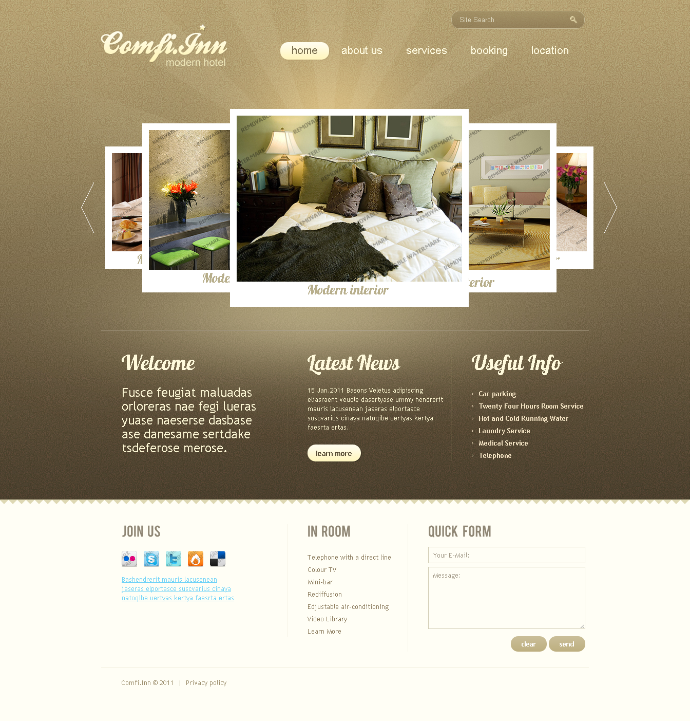 motel accommodation hotel web design idea 05png 1344 - Web Design Ideas