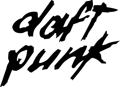 Daft Punk Logo By Tolded Png 501 362 Daft Punk Punk Logos