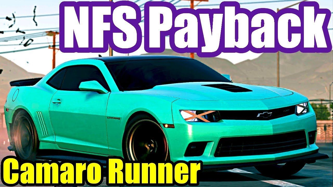 Chevrolet Camaro Z28 Need For Speed Payback 40 Hard Gameplay