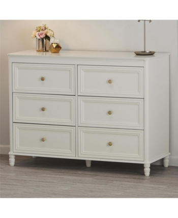 Piper 6 Drawer Dresser White Dresser Drawers 6 Drawer Dresser Drawers