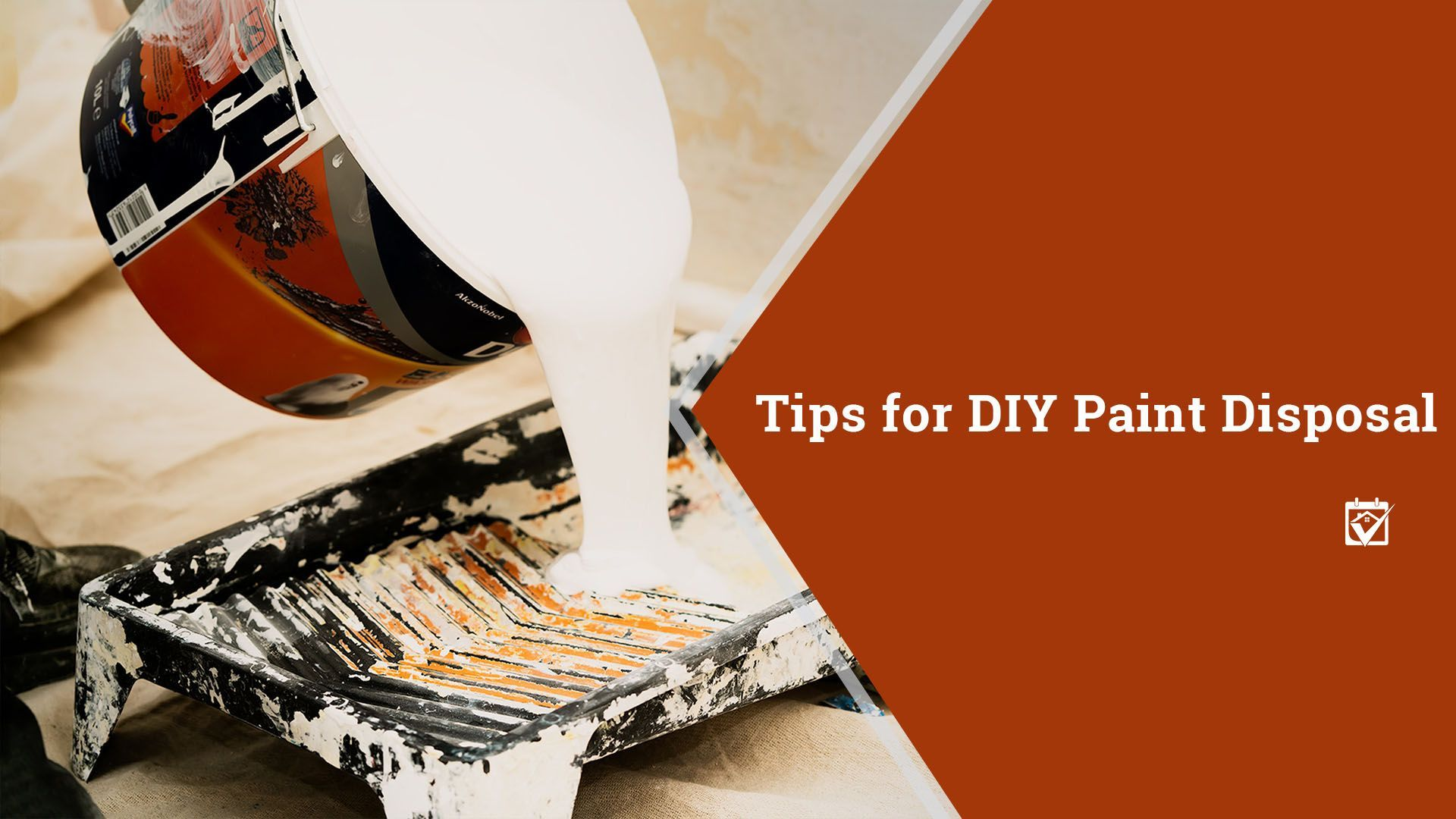 how to dispose of latex paint water