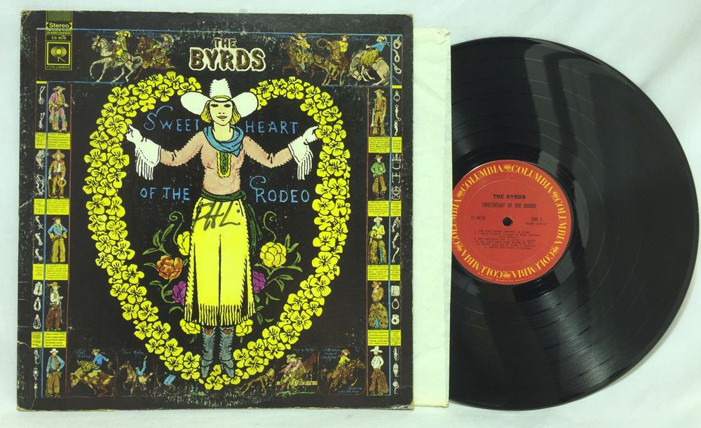 The Byrds Sweetheart Of The Rodeo Vinyl 1968 Lp Record Cs 9670 Album Columbia Vinyl Records Vinyl Records For Sale Records