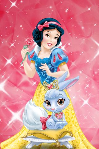 Snow White And Berry Palace Pets Game Get At App Store Disney Disney Princess Snow White Disney Princess Palace Pets Disney Princess Art