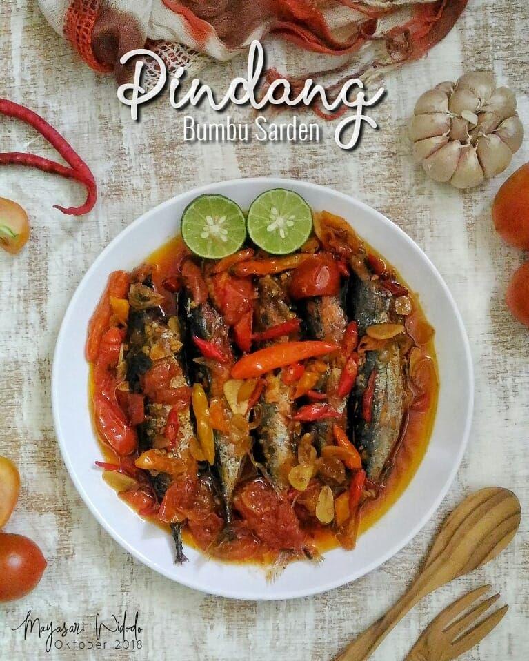 Pindang Bumbu Sarden By Mayasari Widodo Langsungenak Com Resep Makanan Resep Sarden Resep Masakan Indonesia