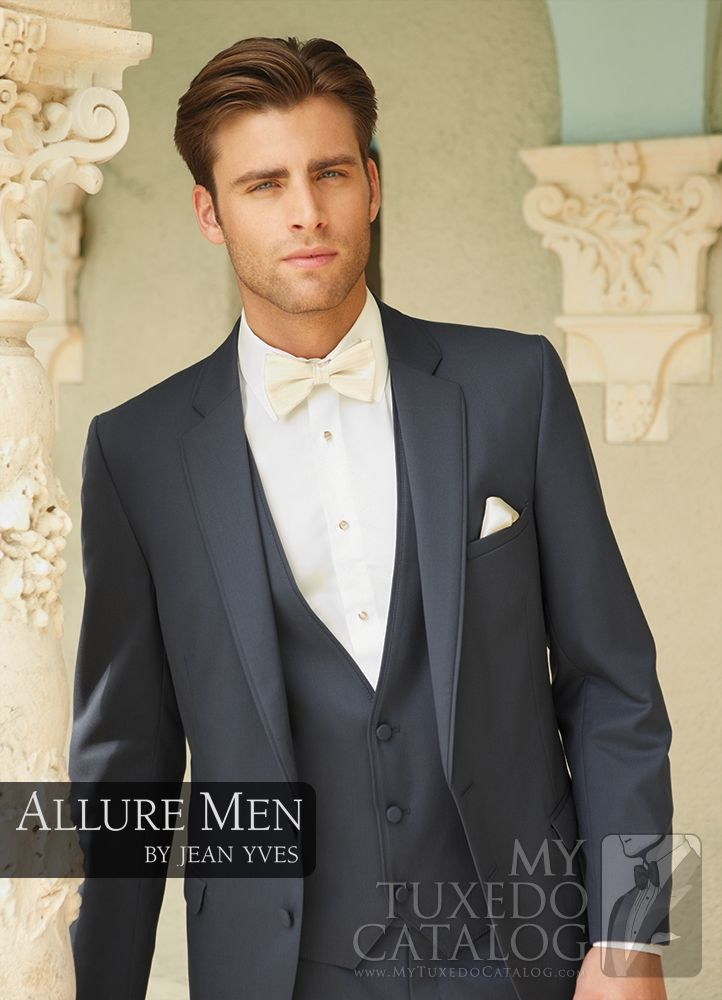 grey suit with ivory bow tie - Google Search  2200e629d471