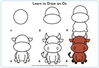Fun Printable Step By Drawing Lessons For Kids Learn How To Draw Animals
