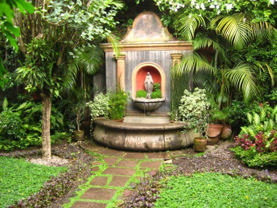 Fuentes jardines jardin pinterest fuentes jardines for Fuentes ornamentales jardin