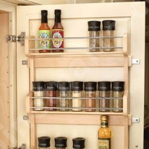 Charming Door Mount Spice Rack Ours Came With The House Six In Our Floor To Ceiling Amazing Ideas