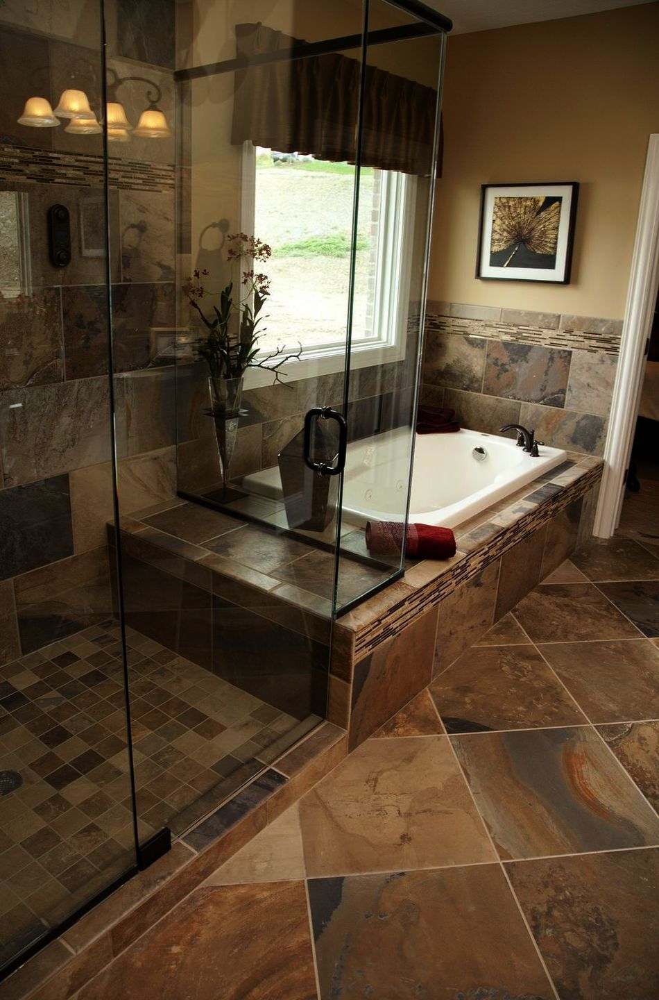 Pin On Rustic Look Bathrooms