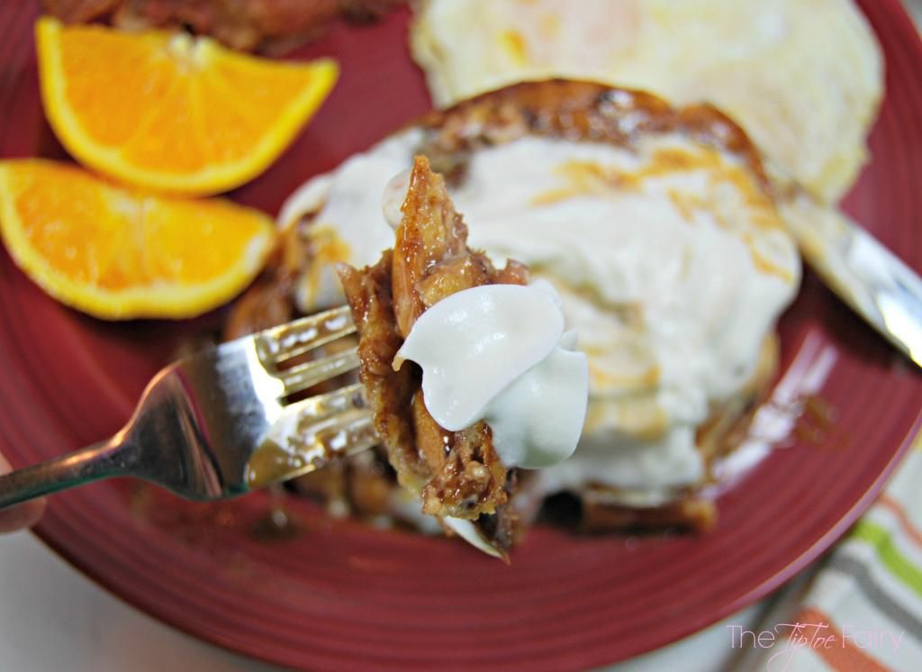 Stuffed French Toast With Coffee Mate The Tiptoe Fairy