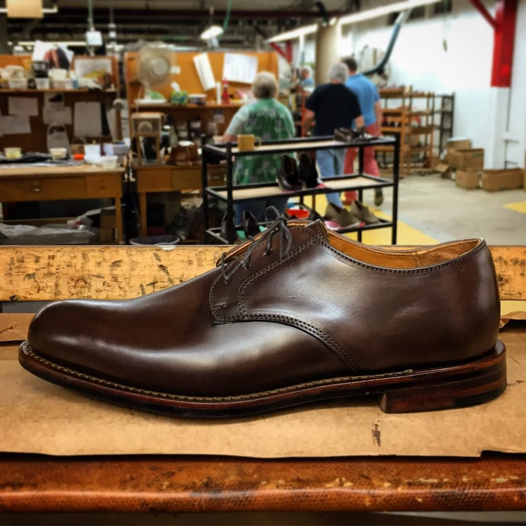 5ef0d04af9e Sanford Blucher. Antiqued and burnished by hand.  rancourtshoes   handcrafted  madeinmaine (at Rancourt   Co. Shoecrafters)