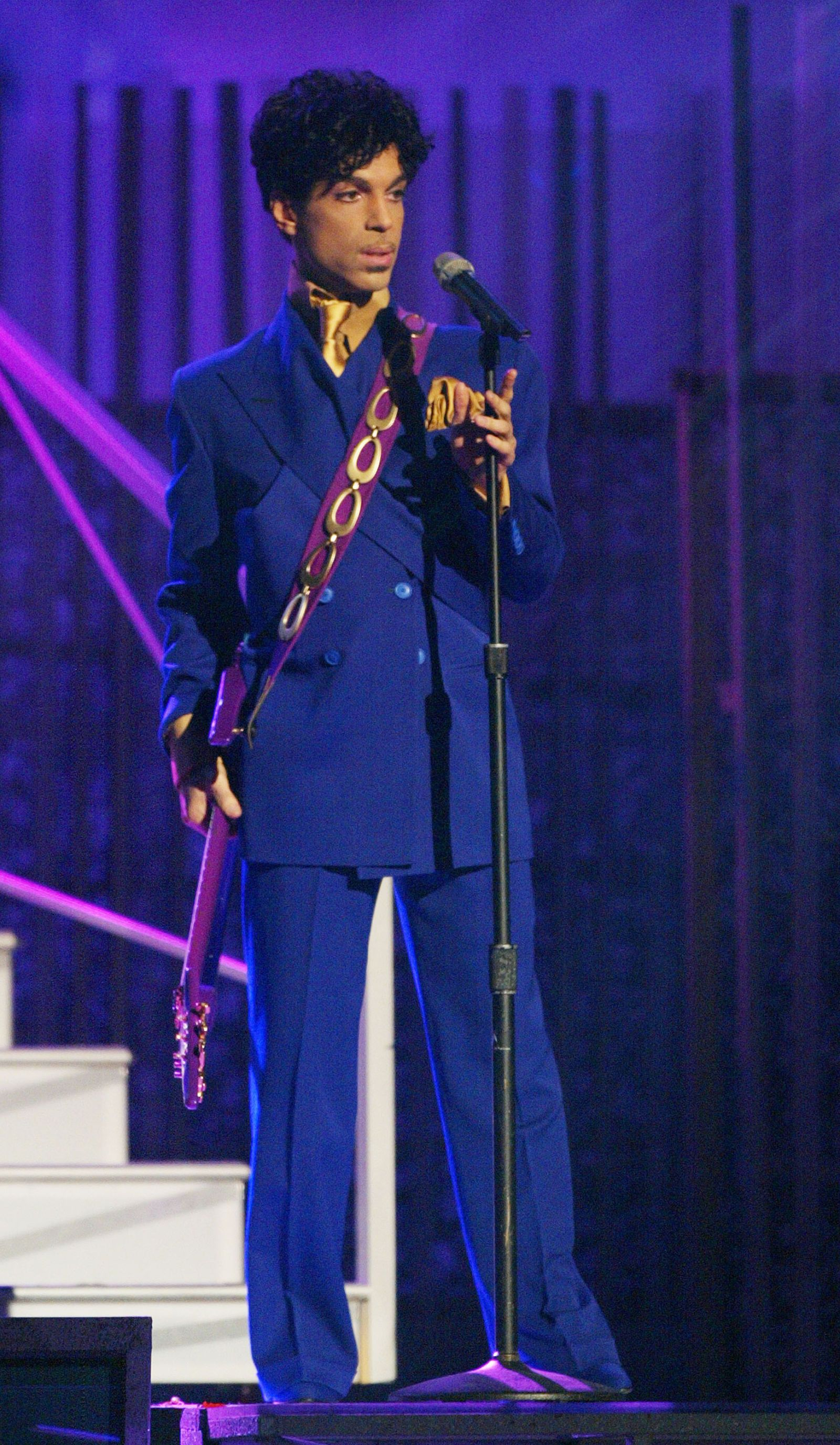 Prince at the 46th Annual Grammy Awards in 2004.