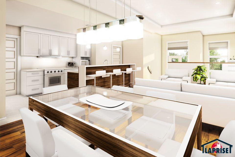 Designer, Zen / Contemporain LAP0510 Maison Laprise - Maisons