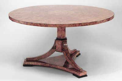 Biedermeier German Austrian Table Dining Table Maple Dining
