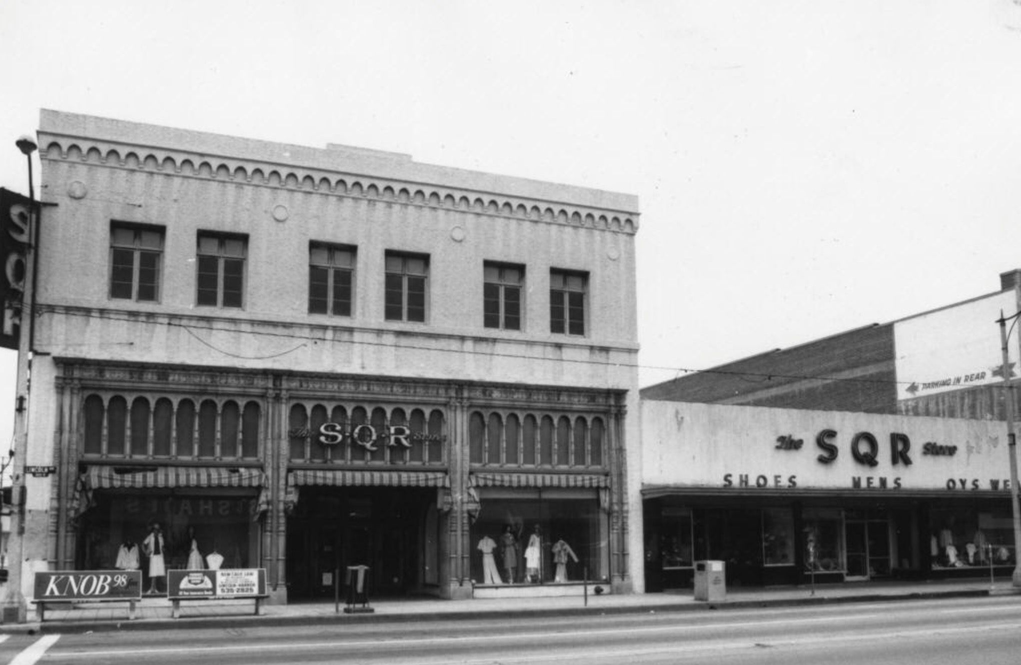S.Q.R. Department Store, Lincoln Street, Anaheim