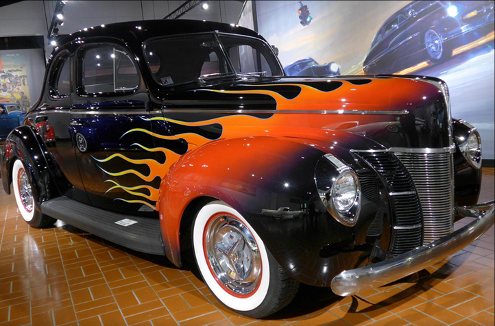 """Hurry! Visit """"American Legends: Hot Rods & Customs"""" before it's gone!"""