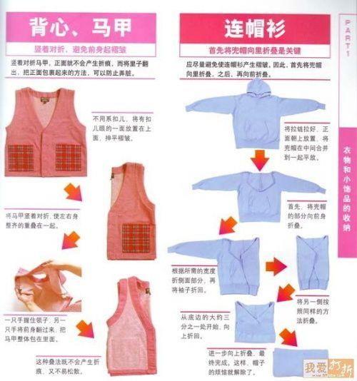 Как правильно складывать юбку