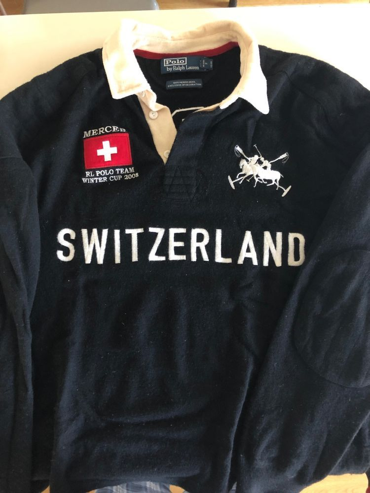 Temperament Schuhe ganz nett Geschäft Vintage Polo Ralph Lauren Switzerland Polo Team Winter Cup ...