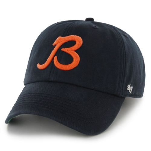 1f4aa120515 Mens Chicago Bears  47 Brand Navy Blue Franchise Fitted Hat - NFLShop.com