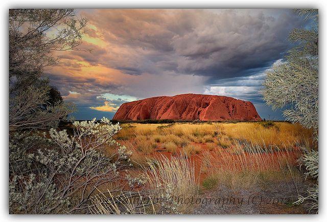 Uluru by -Giep-, via Flickr