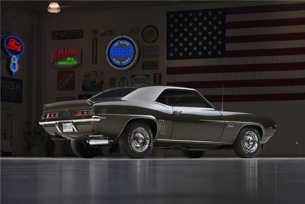 1969 CHEVROLET CAMARO COPO 427 – Barrett-Jackson Auction Company – World's Greatest Collector Car Auctions