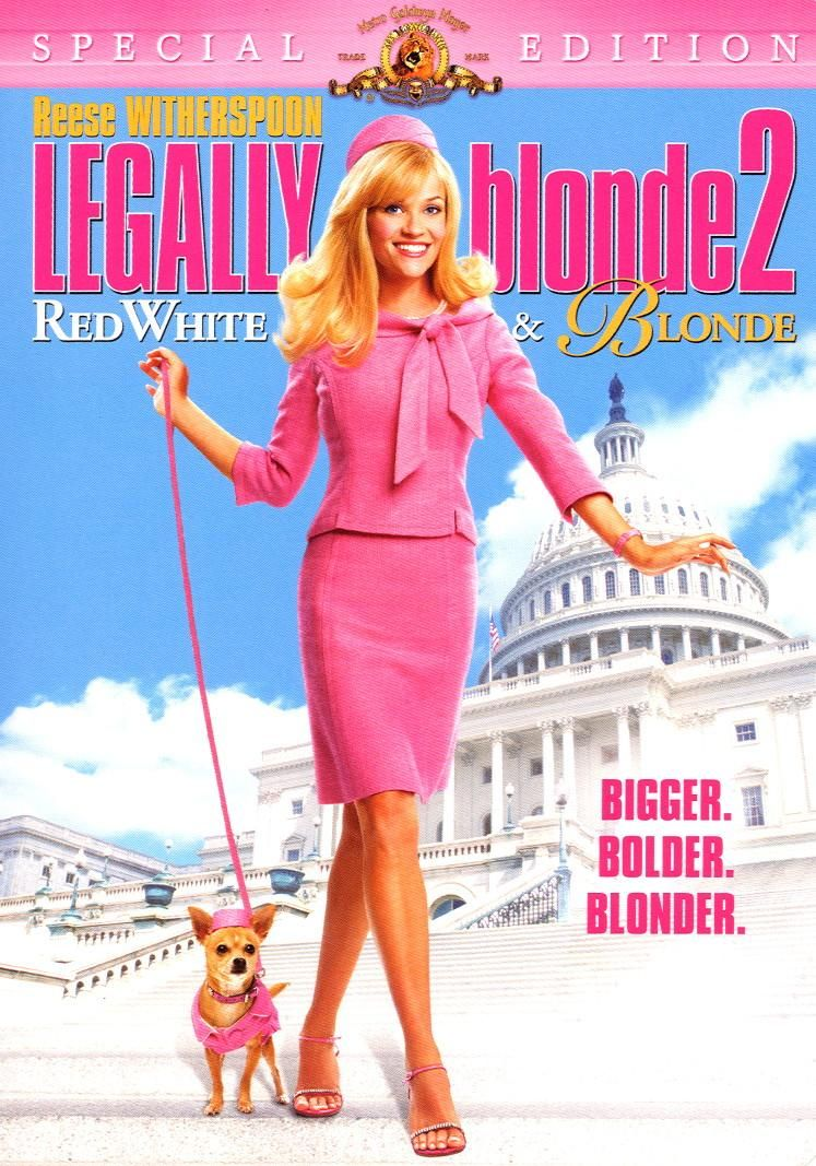 Legally Blonde Red White And Blonde