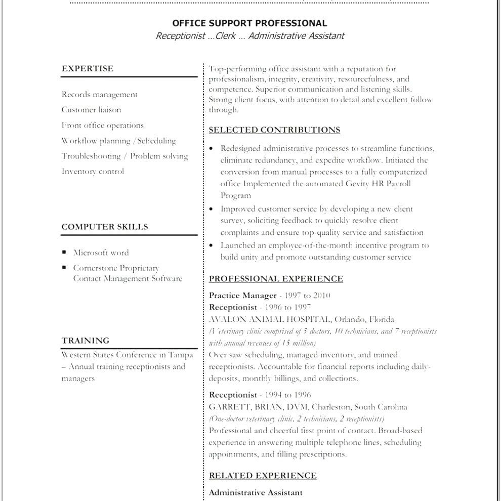 Front Office Resume Resume Templates Office 365 #office #resume #resumetemplates .