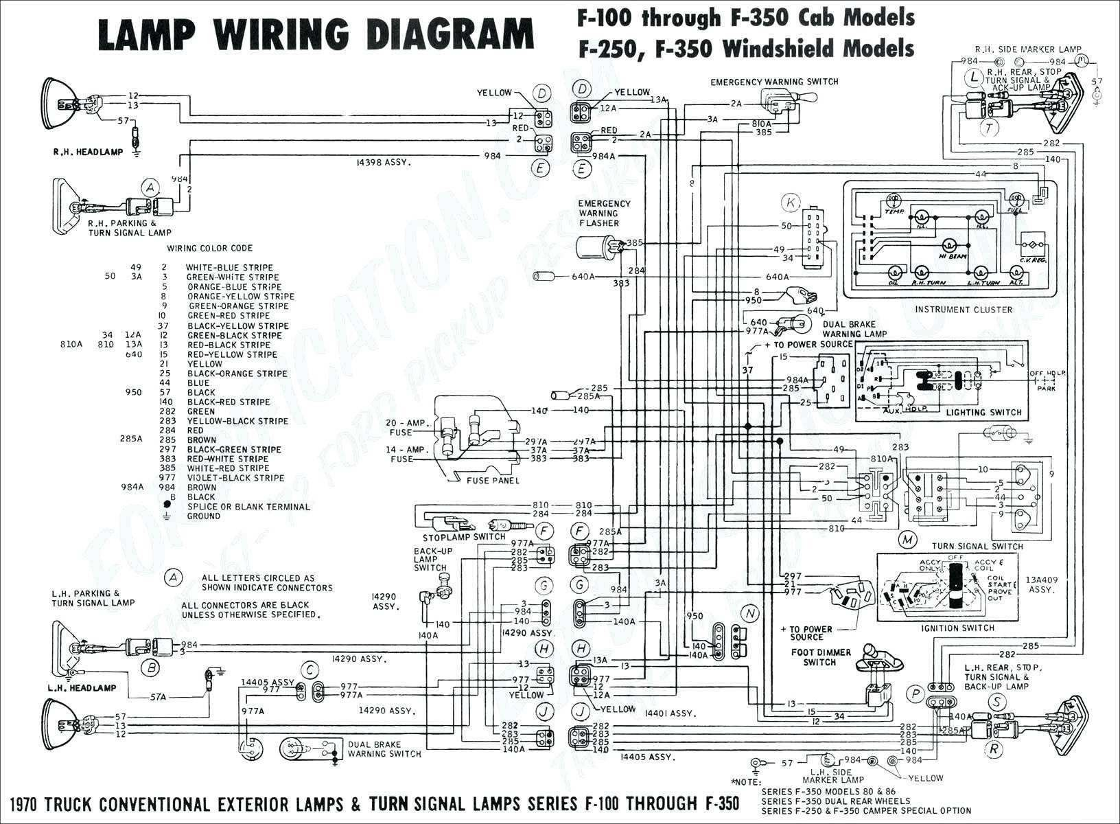 Chevy Turn Signal Wiring Schematic