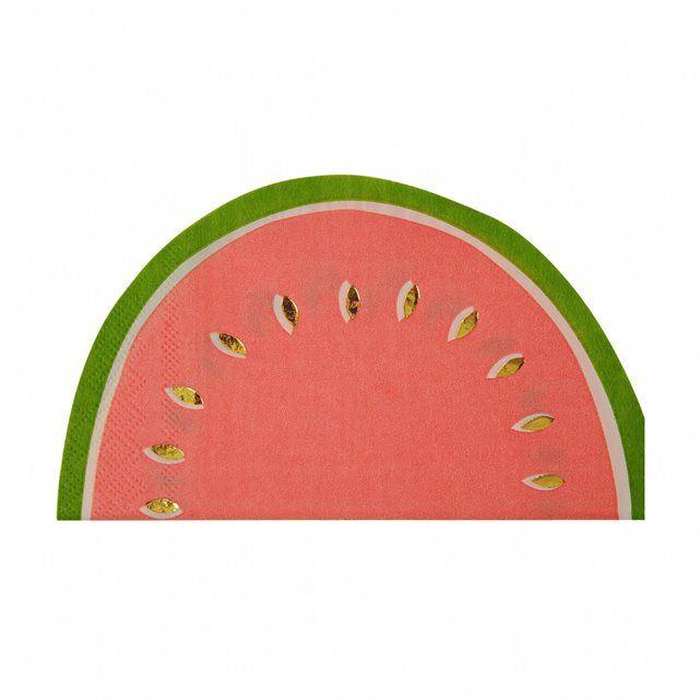 Serviette Fruits   Baby Prestige