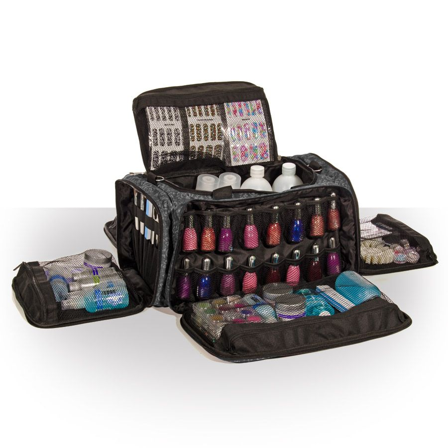 Glamour Session Bag IMPERIAL BLACK Nail Technician