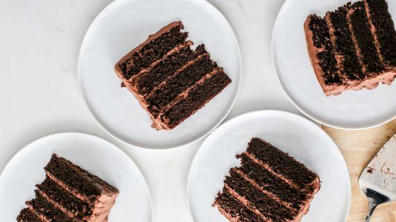 ¡La única receta de pastel de chocolate que necesitarás! (Comida del diablo)