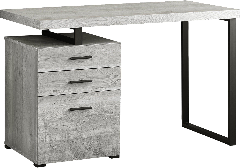 Windmier Gray Desk Grey Desk Furniture Grey Wood