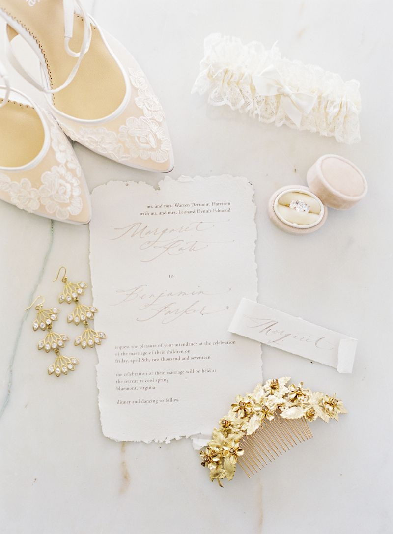 Garter: Ivory with Gold Embroidery | Wedding garter, Lace wedding ...