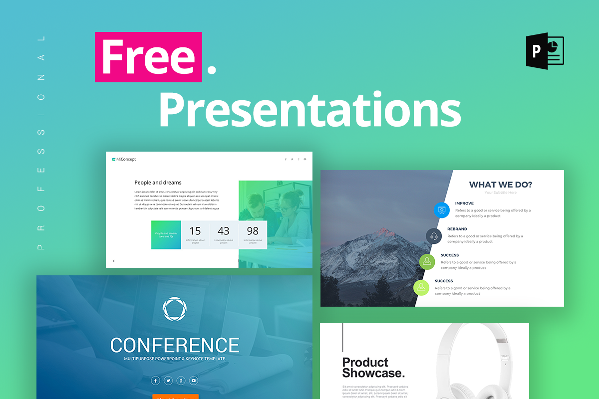 free professional powerpoint template koni polycode co