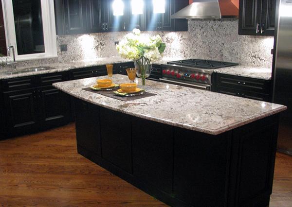 Marvelous Bianco Antico Granite Dark Cabinets Bathroom Bianco Home Interior And Landscaping Staixmapetitesourisinfo