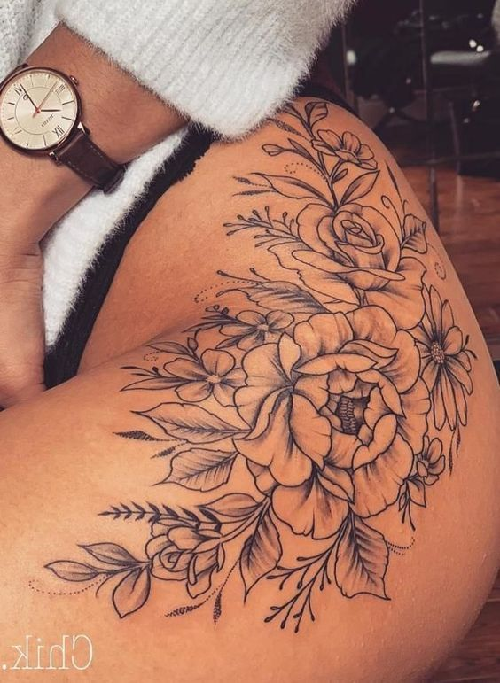 Photo of Inspirational tattoo ideas for the hip, first tattoo on the hip … #flowertattoos – diy tattoo images