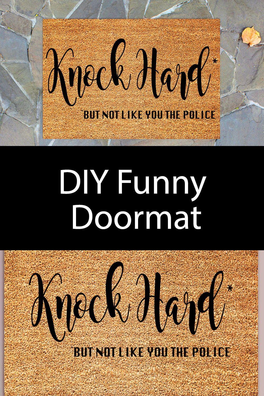 How To Make A Custom Welcome Mat Using Your Cricut By Pink Cricut Stencils Diy Cricut Outdoor Mat