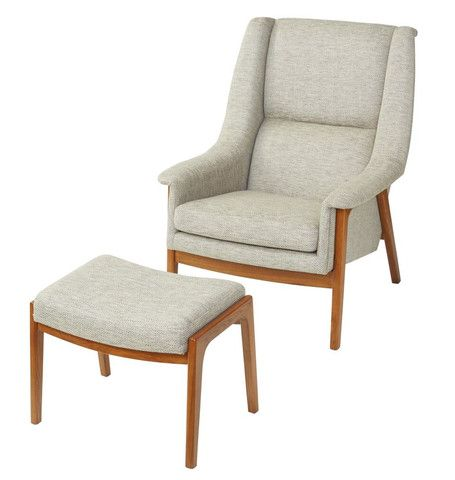 Flume Armchair and Footstool @opusdesignco opusdesign.com.au/