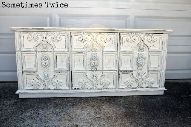 Wickedly White Redo Furniture 70s Furniture Furniture Makeover