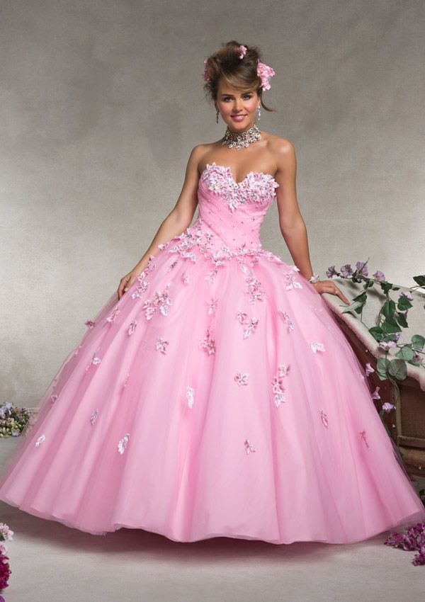 Quinceanera Dress From Vizcaya By Mori Lee Dress Style 88073 Tulle ...