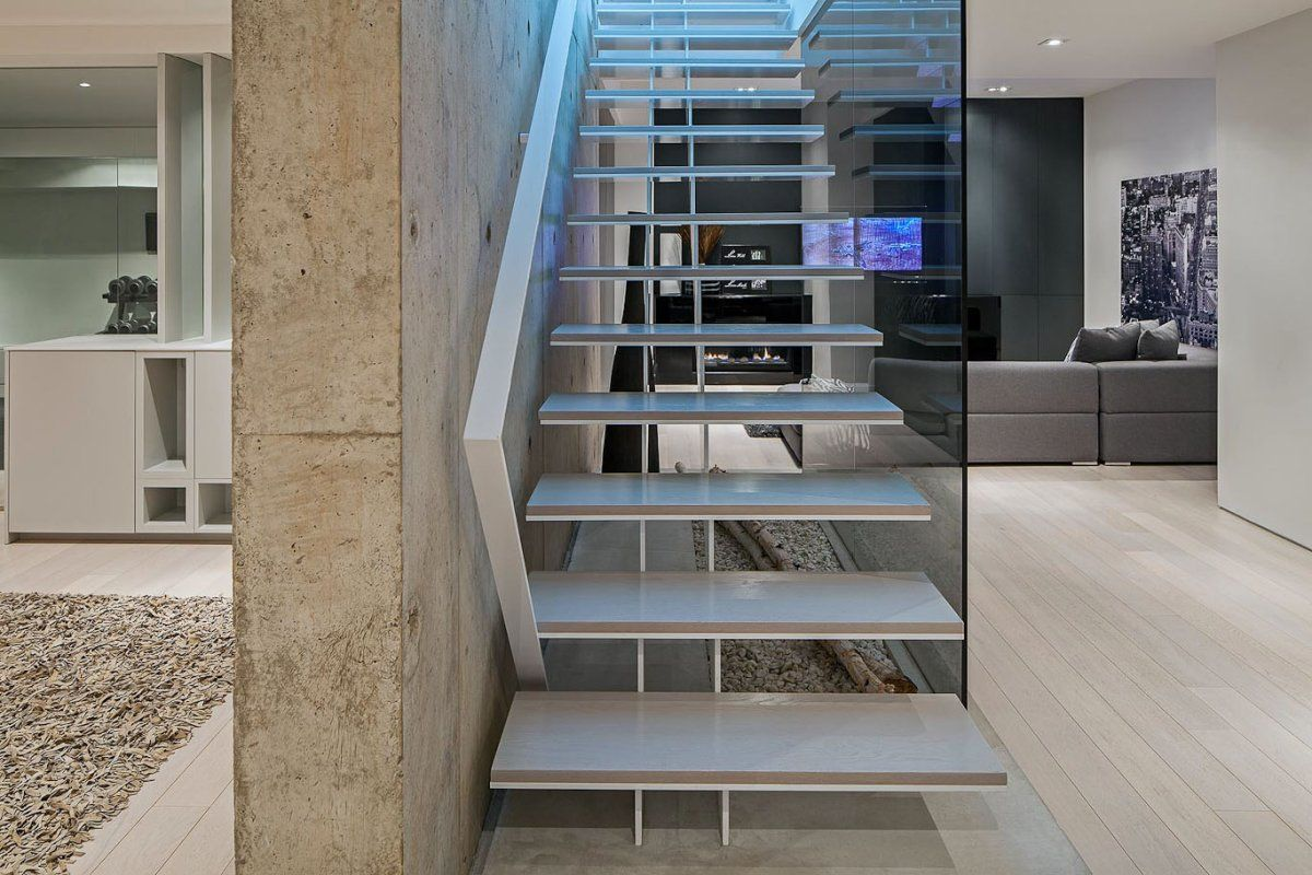 Love The Asymmetrical Design Of These Stairs! 44 Belvedere By Guido  Costantino Design Office Www