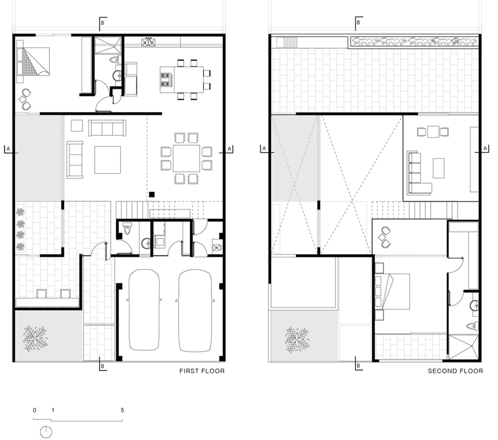 cereza house warm architects - Architectural Drawings Of Modern Houses