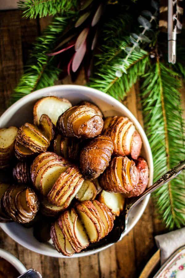 Perfectly Roasted Christmas Potatoes